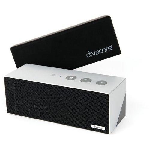 Divacore Divacore Ktulu II+ - BLuetooth Speaker - Powerbank - 35 uur speeltijd -Zilver