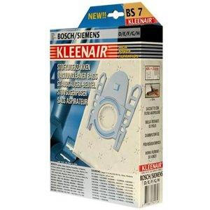 Kleenair KleenAir HPF BS7 Bosch/Siemens 8 Stofzuigerzakken