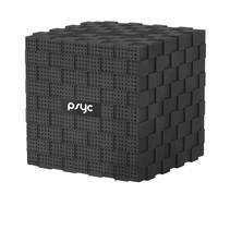 Draadloze bluetooth speaker Cube (MIC+Micro-SD Slot)