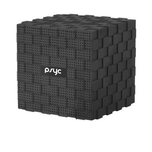 PSYC Draadloze bluetooth speaker Cube (MIC+Micro-SD Slot)