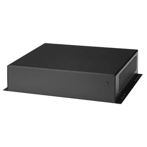 Thin Client Mini-ITX kast 5677, 60W adapter - Zwart