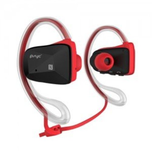 PSYC Elise SX Draadloze sport headset, rood