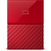 WD My Passport portable - Externe harde schijf - 2 TB - Rood