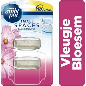 Ambi pur Ambi Pur Small Spaces Vleugje Bloesem Navulling - 2x5,5ml - Luchtverfrisser