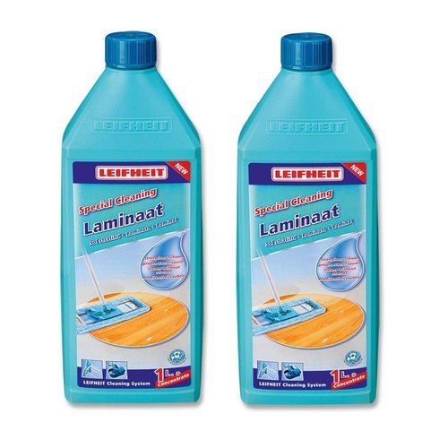 Leifheit Leifheit Laminaatreiniger 1 liter - 2 flessen pack