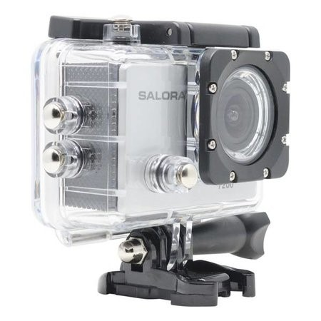 "SALORA ProSport PSC7200HD HD action camera met waterproof casing en 2,0"" TFT monitor"
