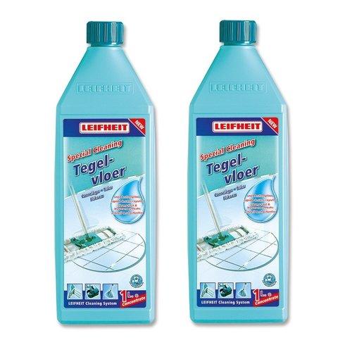 Leifheit Leifheit Tegelvloerreiniger 1 liter - 2 flessen pack
