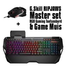G.Skill RIPJAWS Master set  mechanisch RGB Gaming Toetsenbord en Muis - QWERTY