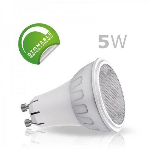 Tagan Pakket voordeel! LED Spotlight (pak van 6) GU10 5W Dimbaar