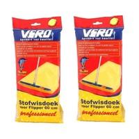 Vero Super Flipper Stofwisdoek - 60x25cm - 50 stuks - Duopack Navulverpakking
