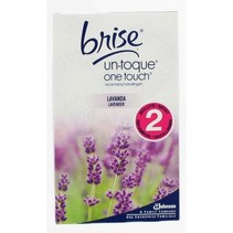 Brise One Touch Navul Duo - Lavendel 2x10mL
