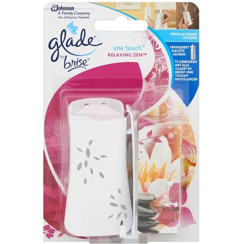Glade One Touch Relaxing Zen met houder Relaxing Zen