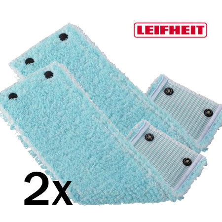 Leifheit Leifheit - Super Soft vervangingsdoek Clean Twist 42cm - Duopack