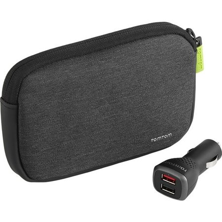 "Tomtom Tomtom Premium (4.3 - 5.0"") - Case & car charger"