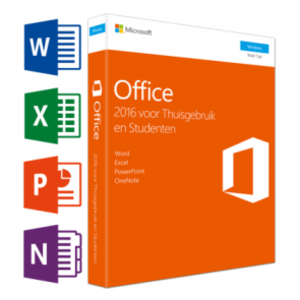 Microsoft Microsoft Office 2016 Thuisgebruik en Studenten NL