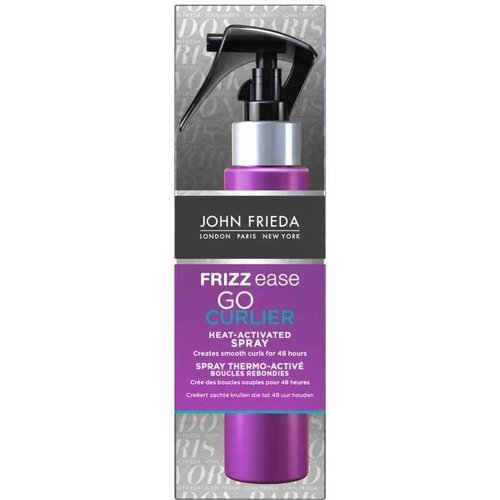 John Frieda John Frieda Frizz Ease Go Curlier Heat-Activated Spray - 100 ml - Haarspray