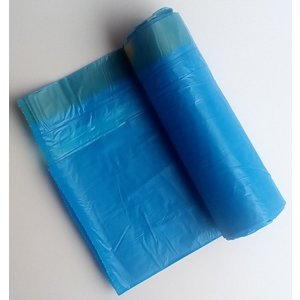 DIT 35 L trekbandzak - donkerblauw - 55 x 60 cm - 3 rollen x 20 zakken