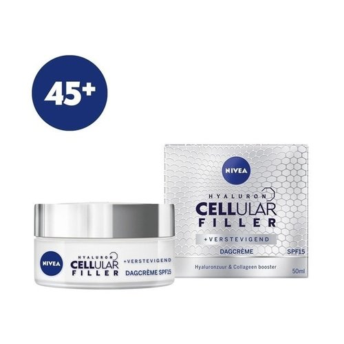 Nivea NIVEA CELLular Anti Age 45+ - Dagcrème - Anti-Rimpel SPF 15 - 50 ml