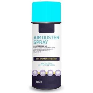 Airduster spray compressed gas - perslucht spuitbus - luchtspray-400ML