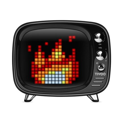 Divoom Tivoo Pixel Art Bluetooth speaker - Zwart