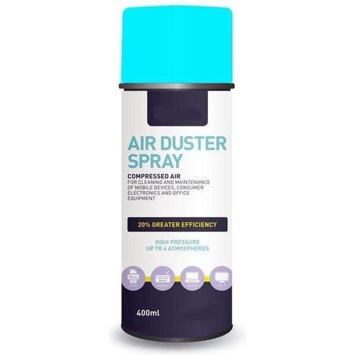 Platinet Airduster spray compressed gas - perslucht spuitbus (set van 3 stuks à 400ml/stuk)