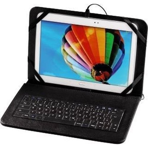 """Hama OTG Tablet Bag with Integrated Keyboard, display size: 25.6 cm (10.1"""")"""