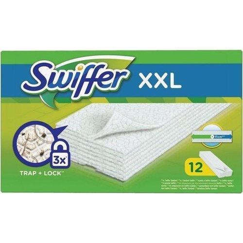 Swiffer Dry XXL - STOFOPVANGENDE DOEKJES - 12 doekjes