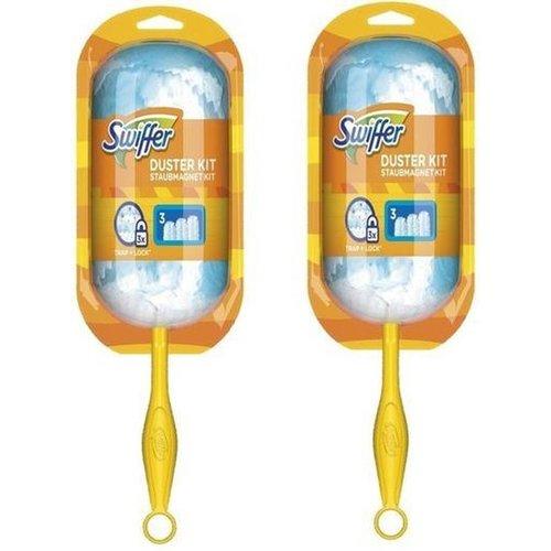 Swiffer Swiffer Duster Kit - afstofset - incl 3 navullingen - 2 stuks