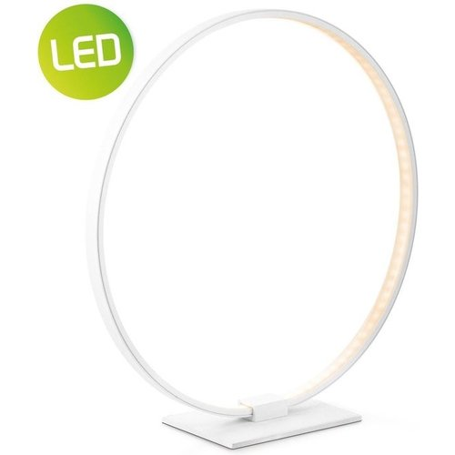Home sweet home tafellamp LED Eclips ↕ 36 - wit