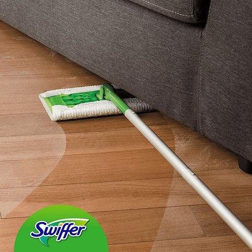 Swiffer Vloerreiniger - 1 Vloerwisser Met 80 Navul Stofdoekjes - Starterkit