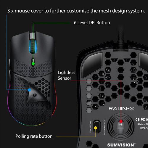Sumvision Sumvision Raijin Pro Gaming Mouse