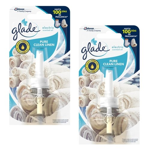 Glade Glade Electric scented oil pure clean linen - 2 navullingen van 20ml