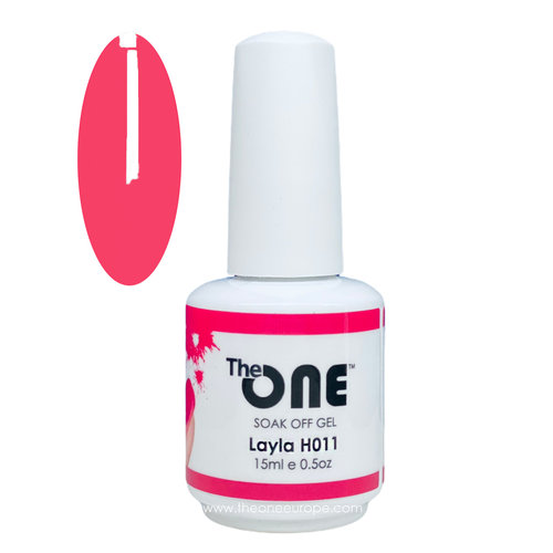 The One The One Pro Gellak 15ml - kleur Layla Rood H011