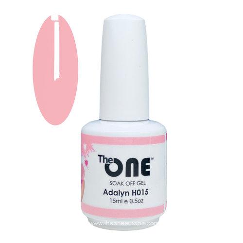 The One The One Pro Gellak 15ml - kleur Adalyn Roze H015