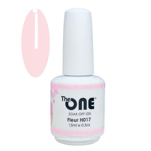 The One The One Pro Gellak 15ml - kleur Fleur Roze H017