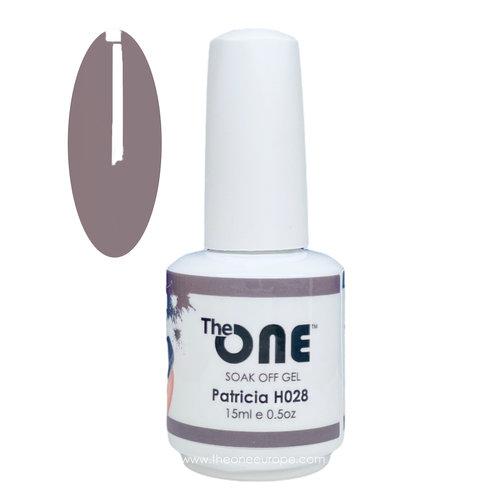 The One The One Pro Gellak 15ml - kleur Patricia Neutrale H028