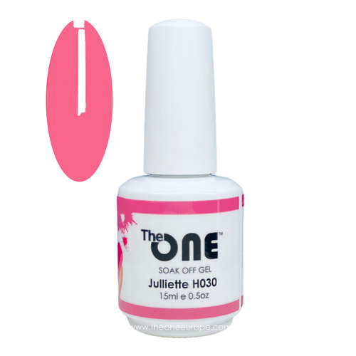 The One The One Pro Gellak 15ml - kleur Juliette Roze H030