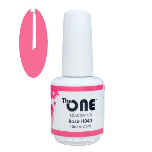 The One The One Pro Gellak 15ml - kleur Rose Roze H040