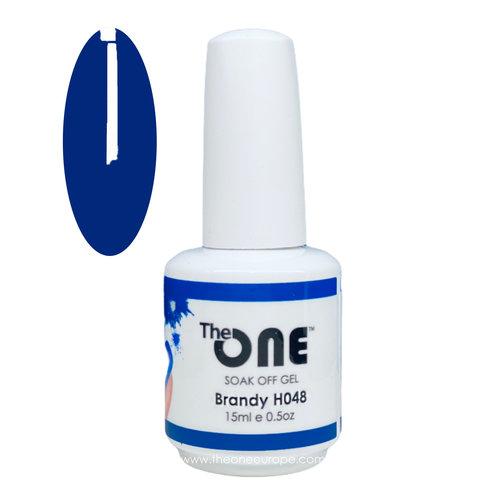 The One The One Pro Gellak 15ml - kleur Brandy Blauw H048