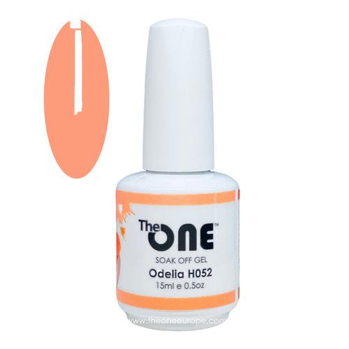 The One The One Pro Gellak 15ml - kleur Odelia Oranje H052