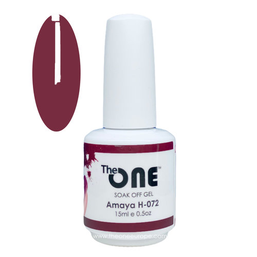 The One H072 - Kleur Amaya Rood