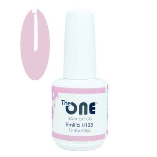 The One The One Pro Gellak 15ml - kleur Emilia Neutrale H128