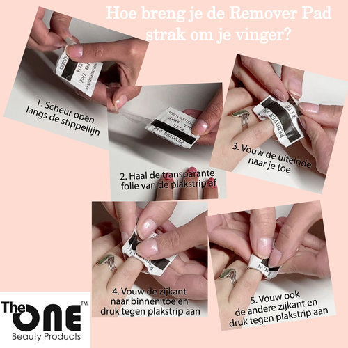 The One Remover Pads met Aceton (20st)