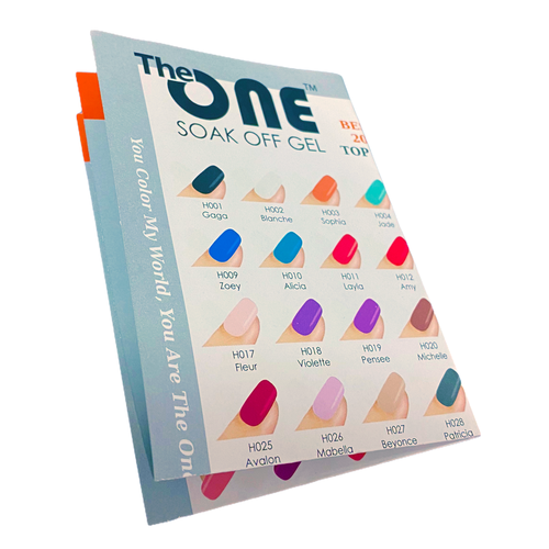 The One The One Pro-LED Draadloos Gellak Starters Set Basis, incl. 1 kleur gratis