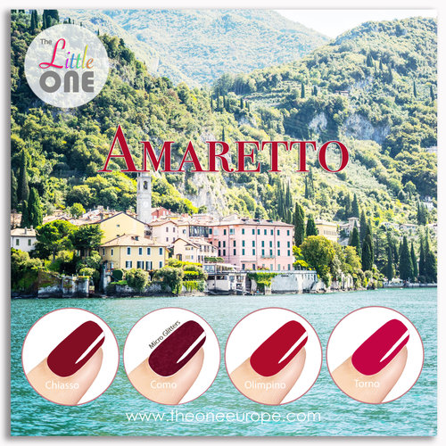 The One Amaretto Color Set LED/UV Gellak 7ml