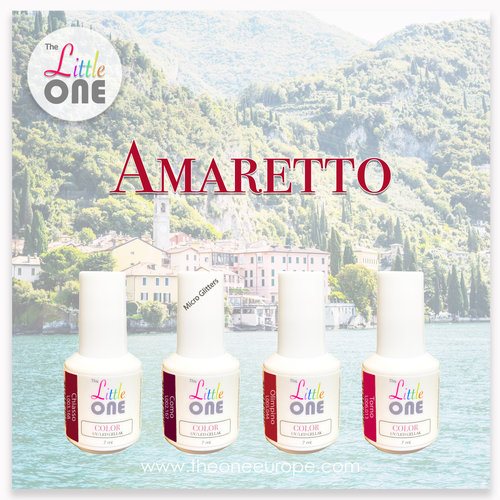 The One Amaretto Color Set LED/UV Gellak 7ml