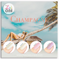 Champagne Color Set LED/UV Gellak 7ml