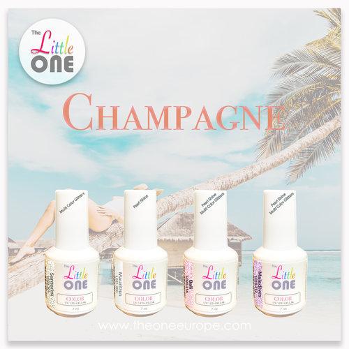 The One Champagne Color Set LED/UV Gellak 7ml