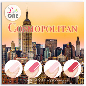 The One Cosmopolitan Color Set LED/UV Gellak 7ml