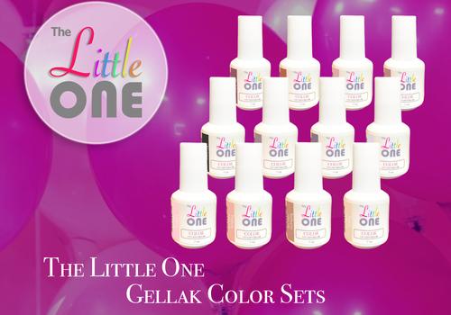 The Little One Gellak Color Sets 7ml